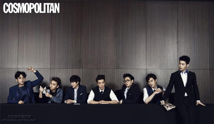 Super Junior-M《COSMOPOLITAN》写真